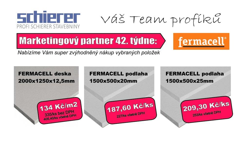 FERMACELL - partner 42. týdne