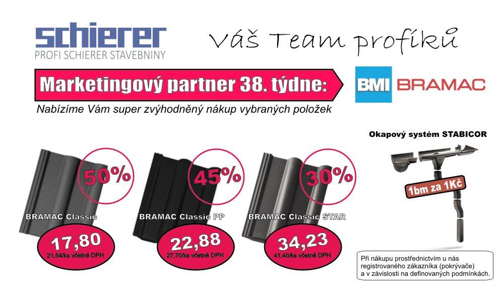 BRAMAC - partner 38. týdne