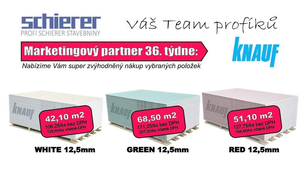 KNAUF - partner 36. týdne